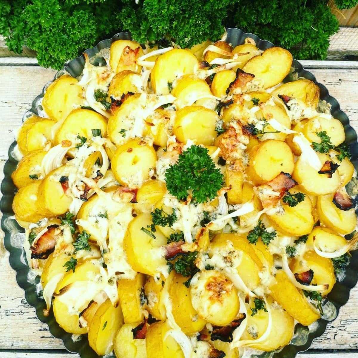 Zapékané sedlácké brambory